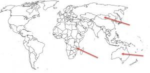 wereldkaart-met-markering